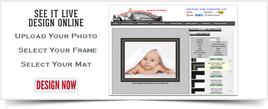 Sydney Picture Frames | Picture Framing in Sydney | PH: (02) 9874 8729